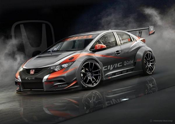 Honda Civic WTCC 2014