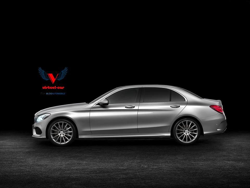 Mercedes Classe c LWB 2015 destinée à la Chine
