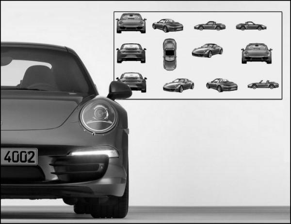 Nouvelle Porsche 911 Targa 2014-2015.5