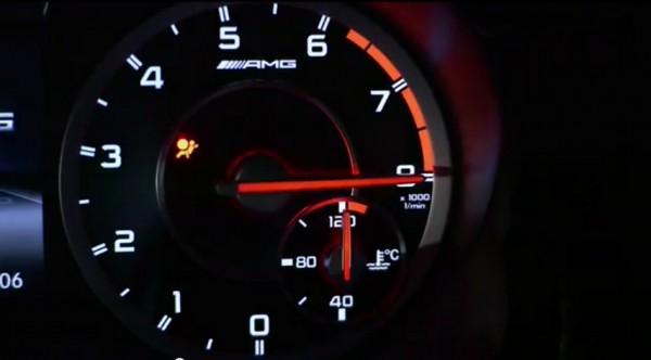 Publicité mercedes A45 AMG