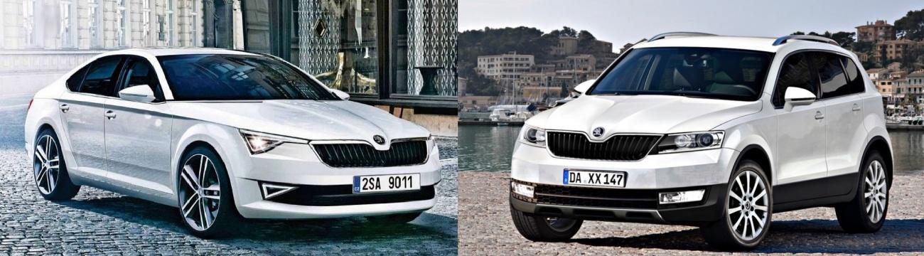 Skoda - futurs SUV et CC
