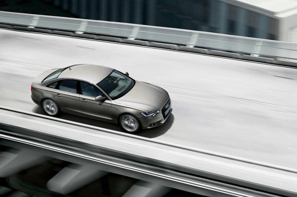 Audi A6 TDI Ultra 190 ch