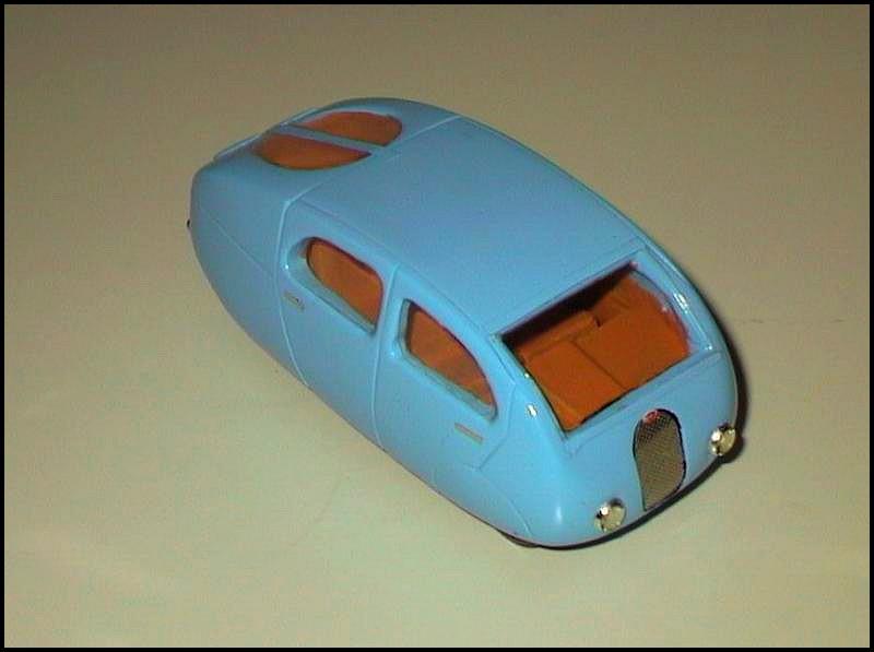 Bugatti Egg car