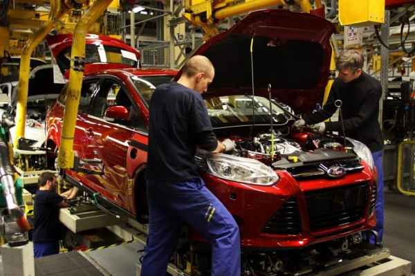 Ford Focus 2014 un million d'ex en Europe.1