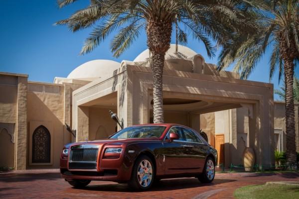 Rolls Royce Ghost mille et une nuit