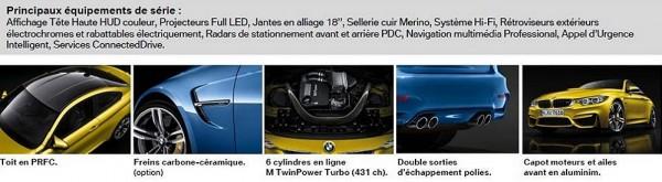 Tarif BMW M3 & M4.2