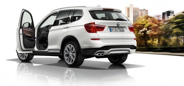 BMW-X3 restylé 2014.