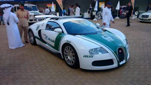 Bugatti Veyron Police Dubaï.1