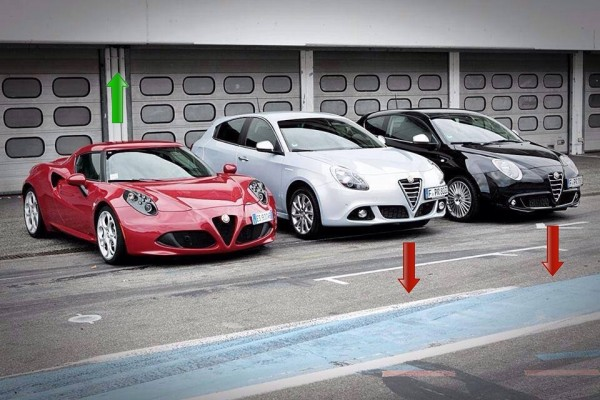 Gamme Alfa Romeo 2014
