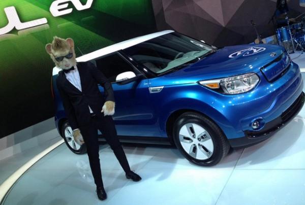 Kia Soul EV 2015.