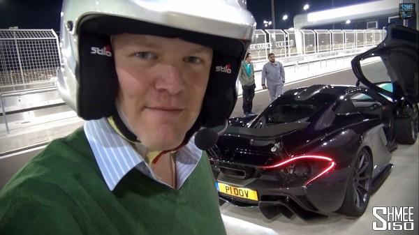 McLaren P1 à Yas marina
