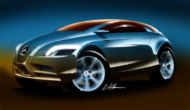 Mercedes Benz Classe X par Hussein Al Attan