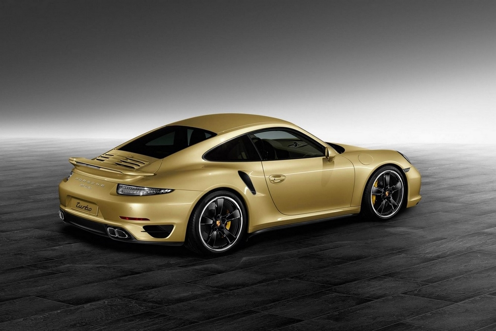 Porsche- 911 Turbo Gold by Porsche Exclusive