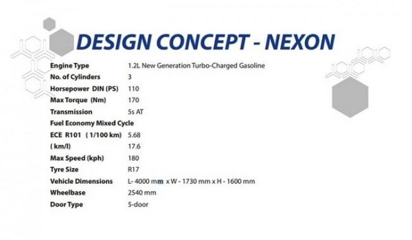 Tata Nexon Concept. spec.1