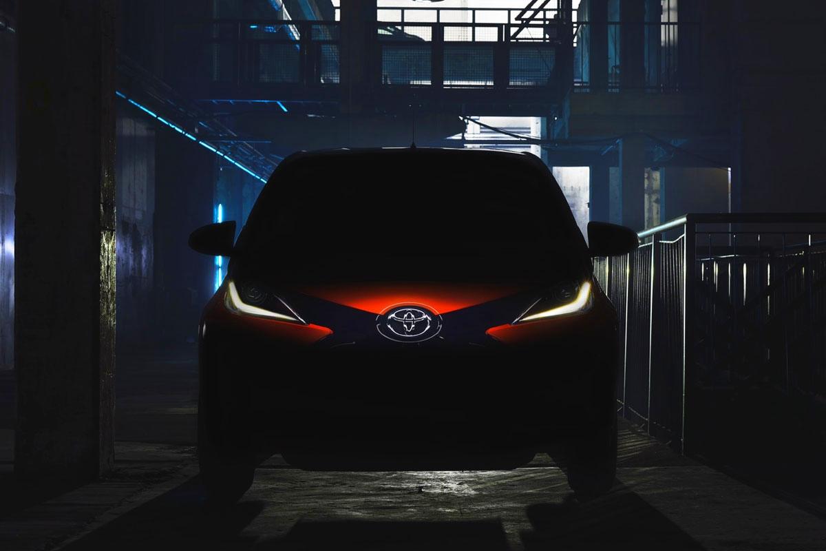 Teaser Toyota Aygo Mk2