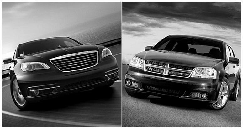 fin de vie pour les Dodge Avenger et Chrysler 200