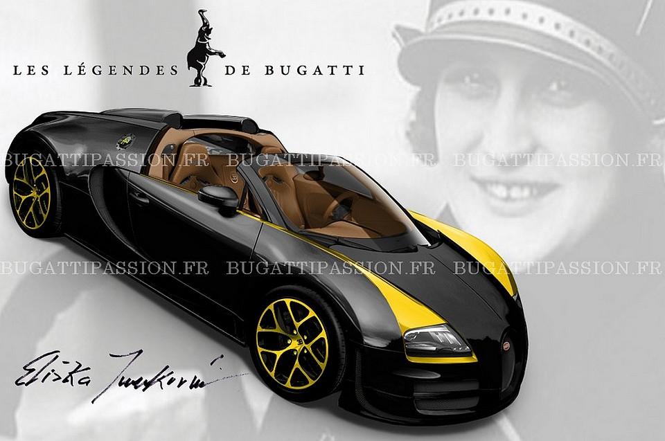 Bugatti Veyron Elizabeth Junek