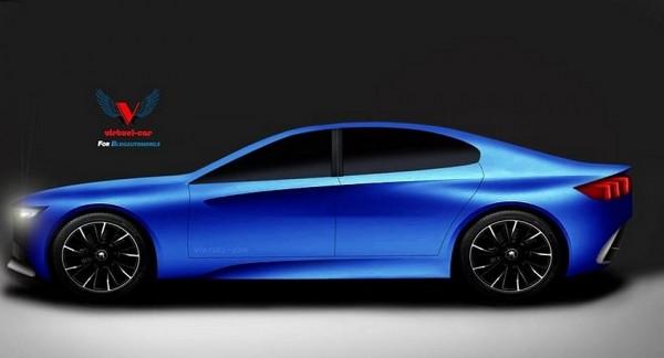 Concept car Peugeot pour le salon de Pékin 2014 par Khalil B