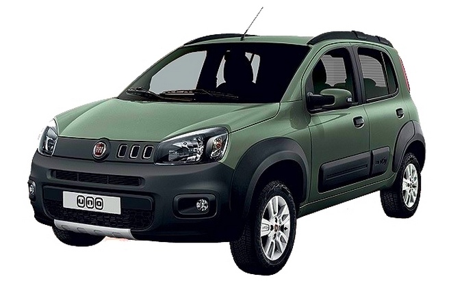 Fiat Uno restylée