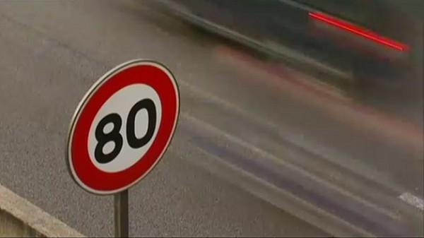 Limitation de vitesse à 80 km-h