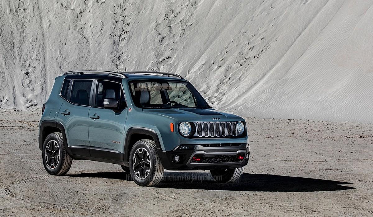 Nouvelle Jeep Renegade 2014-2015
