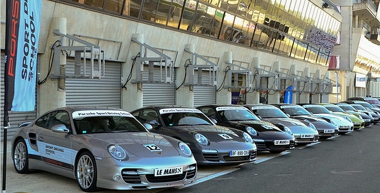 Porsche - un nouveau centre d'essai Porsche au Mans