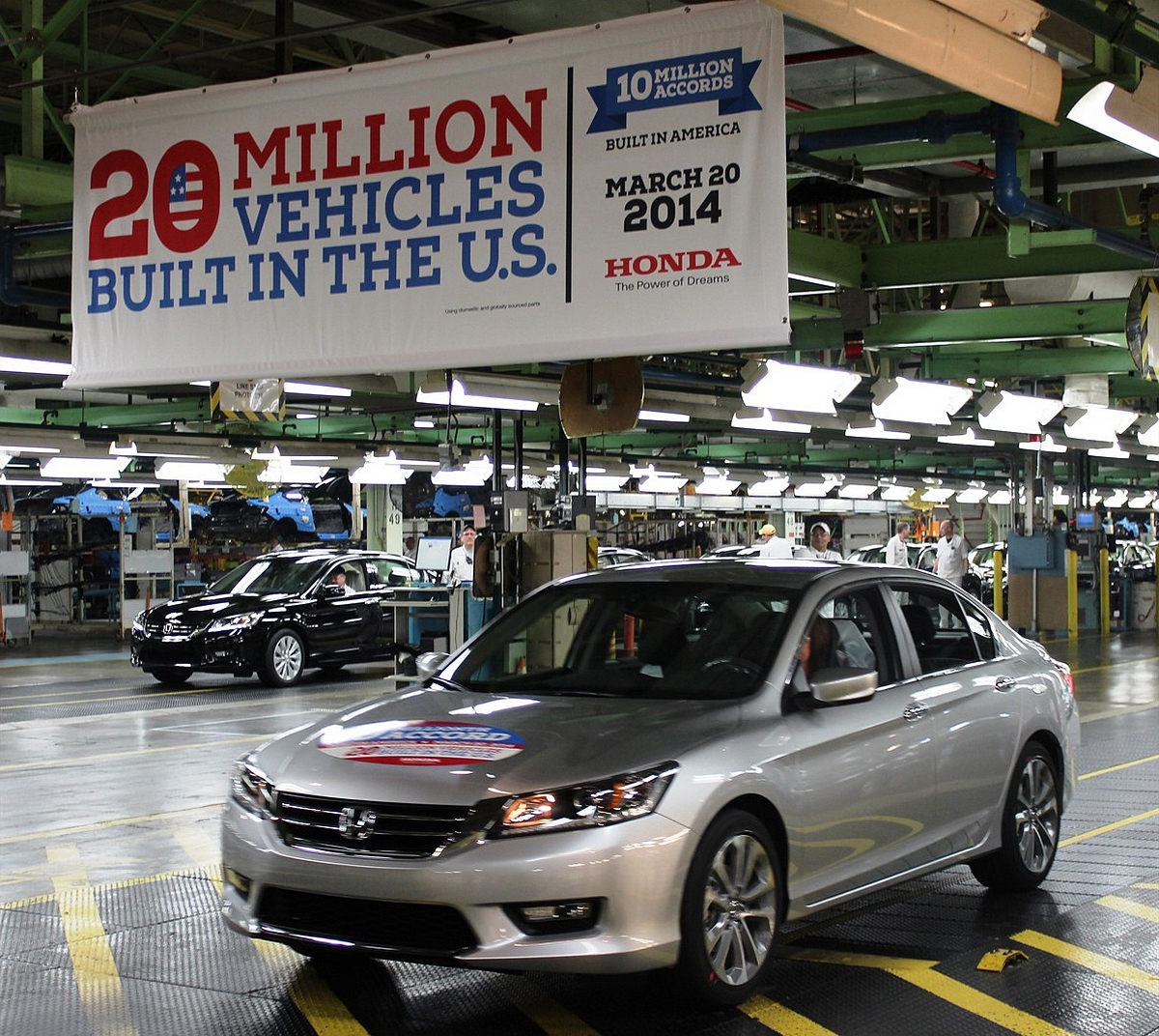 Honda Celebrates 20 Millionth Automobile Built in the U