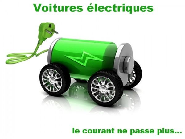 Les VE en panne sur le Marché Q1 en France
