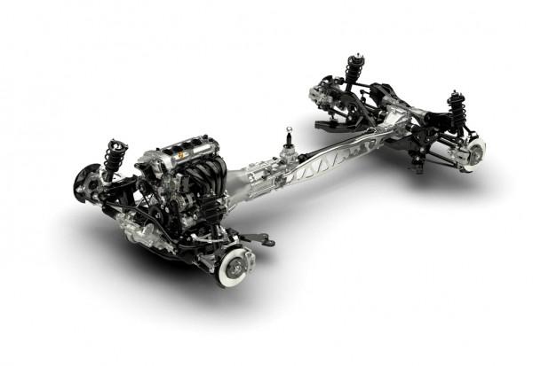 Mazda MX-5 2016 le chassis