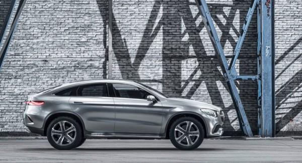 Mercedes Concept Coupé SUV.4