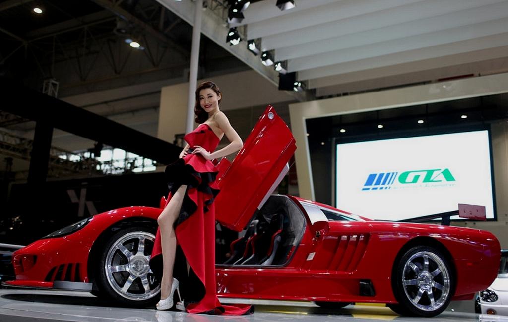 Saleen S7 au salon de Pékin 2014