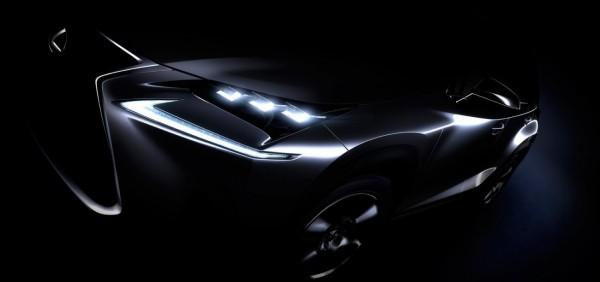 Teaser Lexus NX