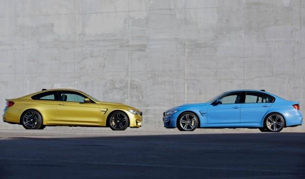 BMW M3 Sedan & M4 Coupé 2014