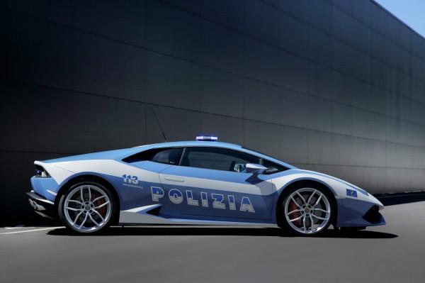 Lamborghini Huracan pour la police italienne.6