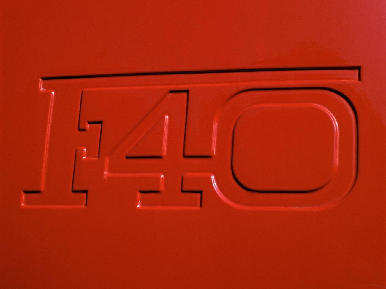 Logo aileron Ferrari-F40_1987