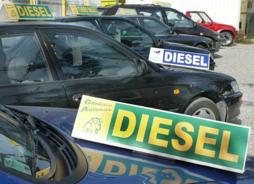 Paris sans vieux diesels et à 30 km-h