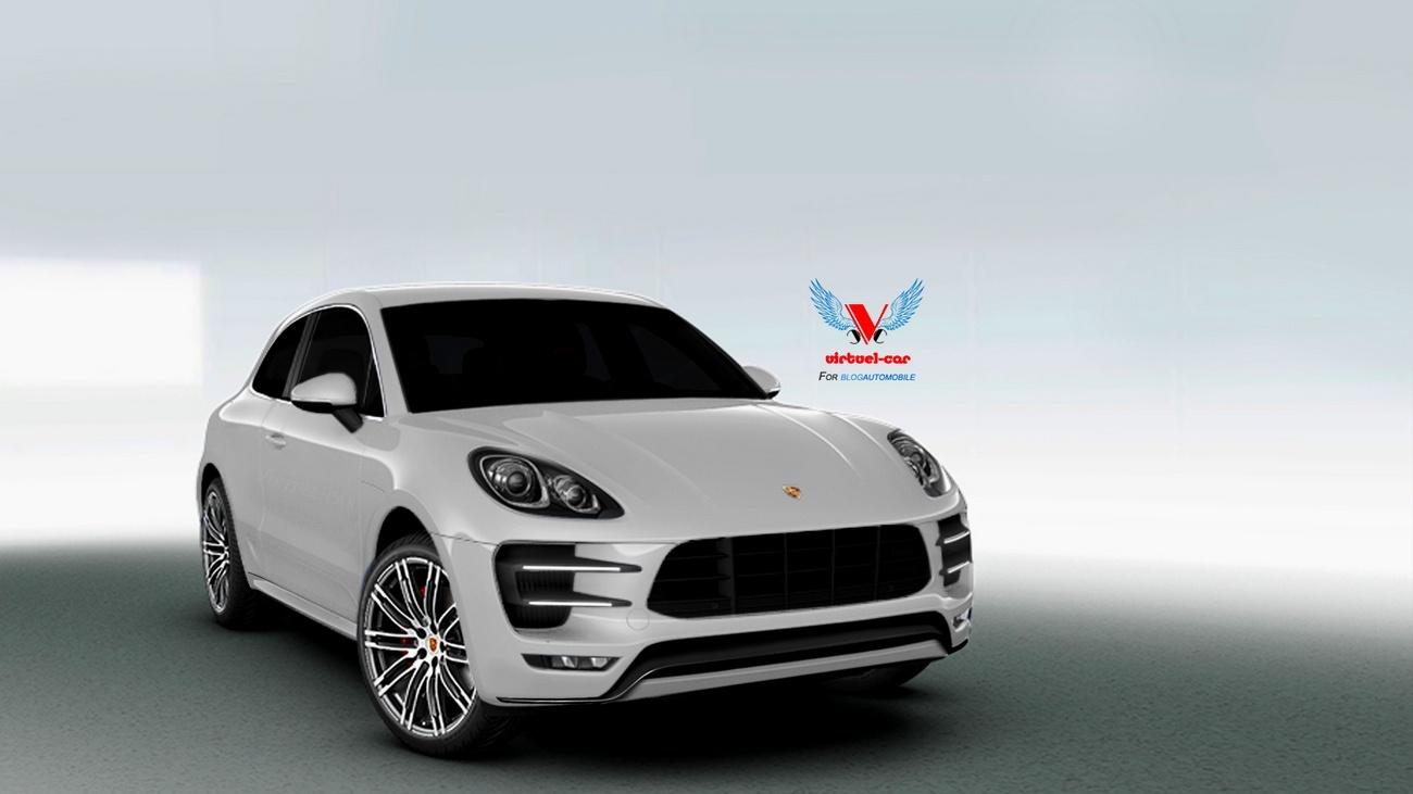 Porsche Macan Coupé GTS par Khalil B pour Blogautomobile