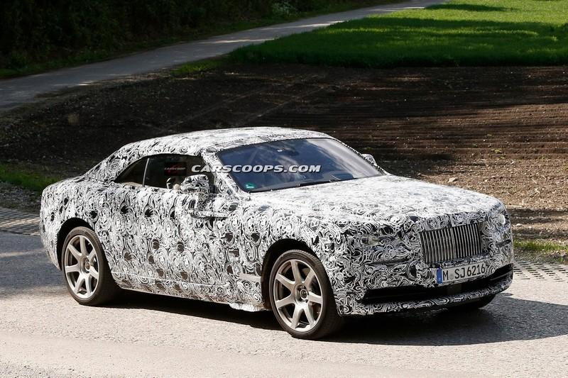 Rolls Royce Wraith Drophead Coupé