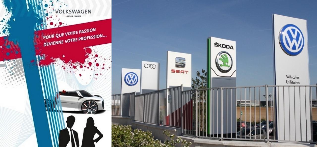 Volkswagen recrute et forme des commerciaux