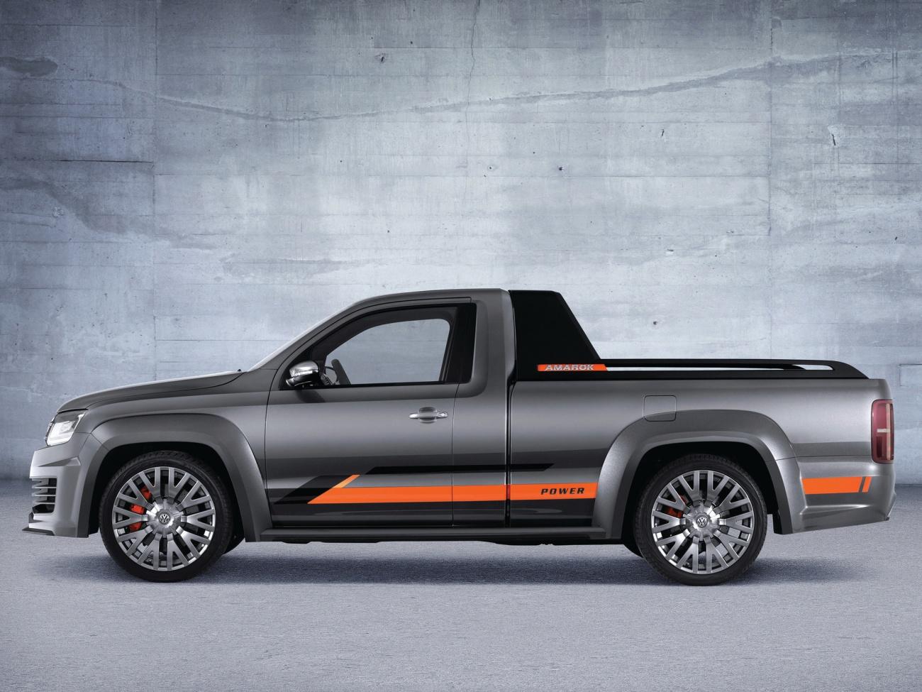 Volkswagen Amarok Power Concept Des Watts Pour La