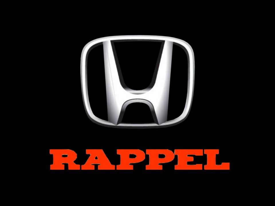 Honda-logo rappel