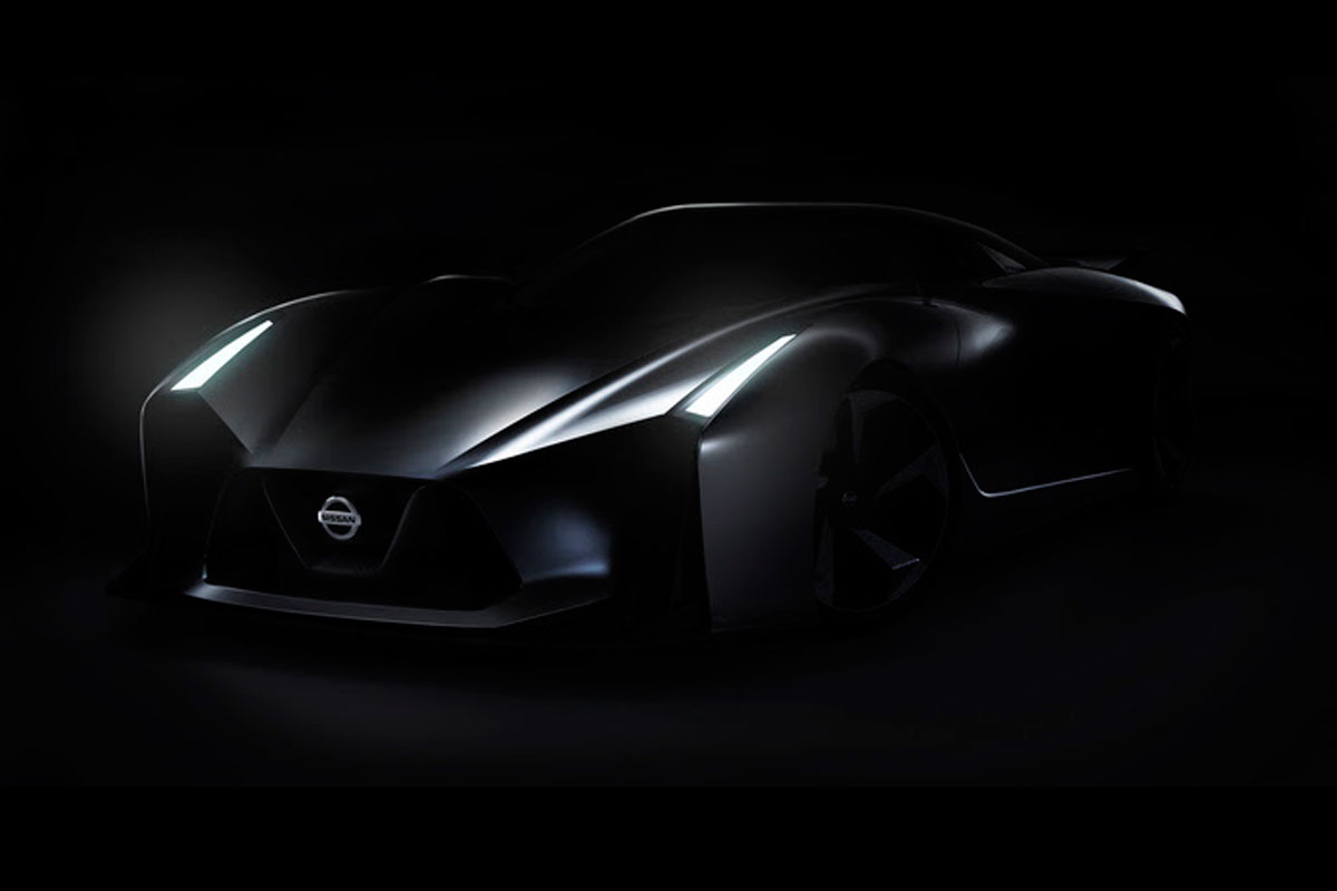 Nissan Vision GT Concept