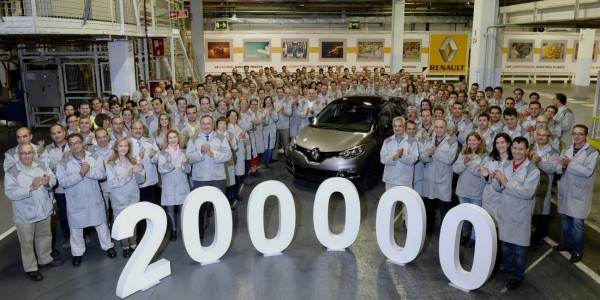 Renault - 200.000 Captur à Valladolid