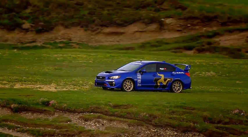 Subaru WRX STI Tourist Trophy Ile de Man 2014