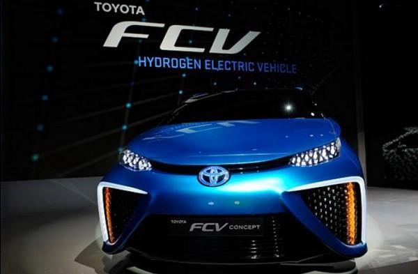 T6oyota voiture à hydrogène