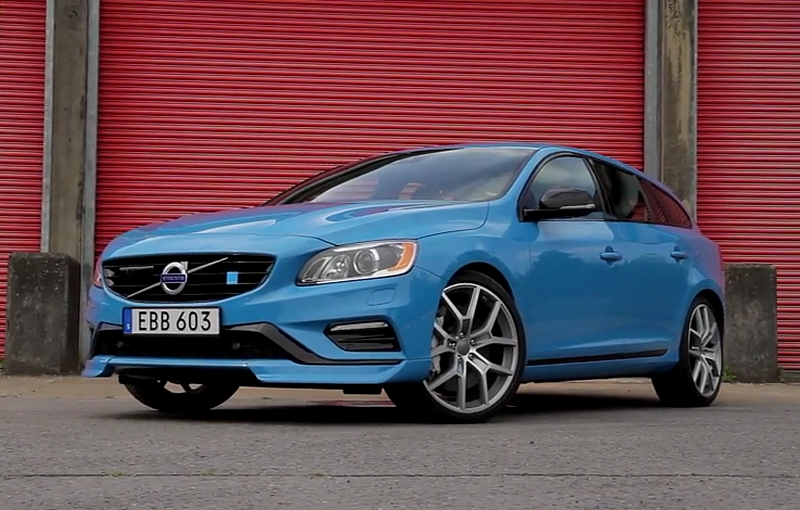 volvo v60 polestar d buts en public goodwood vid os. Black Bedroom Furniture Sets. Home Design Ideas
