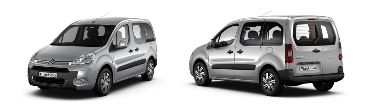 nouveau Citroën Berlingo flasheur