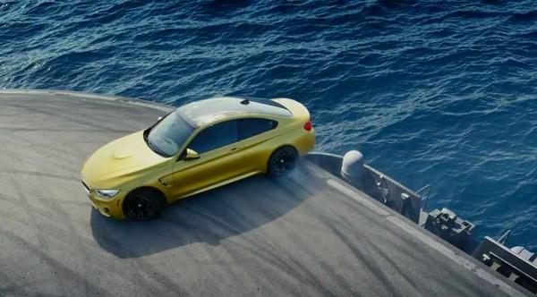 BMW M4 publicité