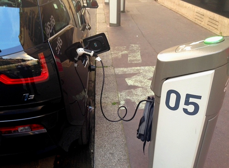 BMW i3 et Autolib