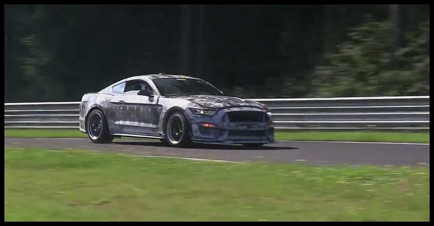 Ford Mustang SVT-GT350 2016 sur le Ring